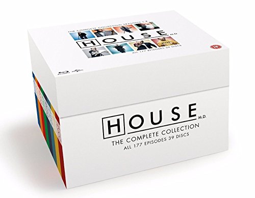 House MD - Complete Series Blu Ray - Season 1 2 3 4 5 6 7 8 Box Set Collection