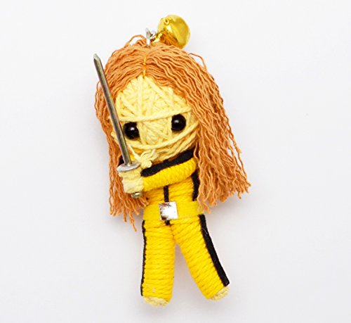 (VD021) Kill Bill The Bride Handmade String Voodoo Doll -