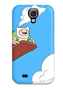 New Fashionable SusanEarlFarr AHWiHBl7798YZvJT Cover Case Specially Made For Galaxy S4(adventure Time)