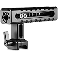 SmallRig NATO Rail Handle Grip 1955 with Mounting Points Shoe Mounts for Cameras/ Camcorder/ Action Cameras, Camera Cages