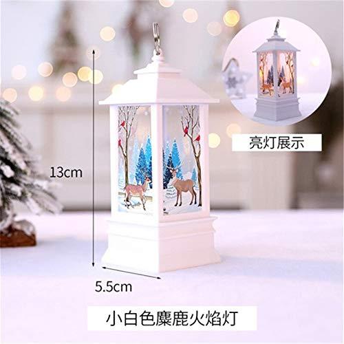 - Santa Candle Christmas Decorations for Home Lantern Led Candle Tea Light Candles Santa Deer Snowman Lamp Navidad Decoration New Year O