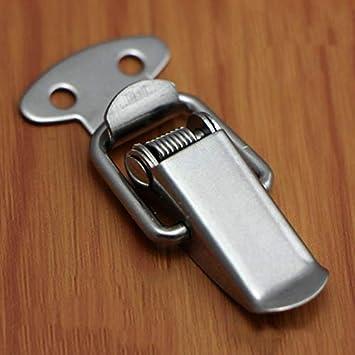 ieenay 6Pcs Caja de Herramientas con Cofre de Maleta con Resorte Bloqueo de Palanca de Bloqueo Cierre de Cerrojo Hardware de Bloqueo,Planchar
