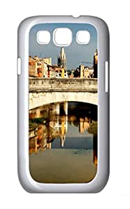 Spain Bridge Polycarbonate Hard Case Cover for Samsung Galaxy S3 I9300¨C White