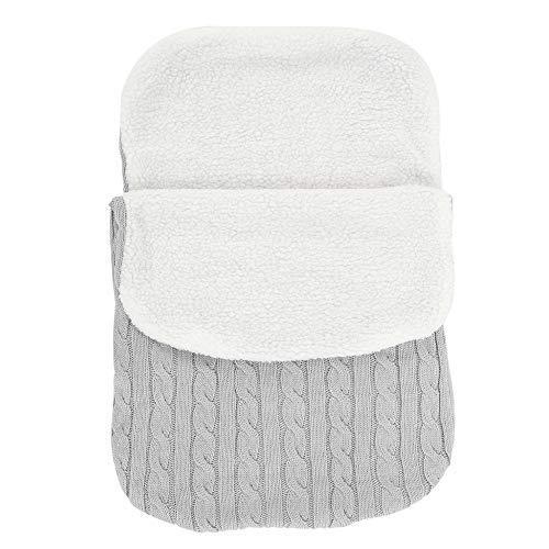 saco de dormir para cochecitos Saco de dormir para beb/é TotallyFashion manta de punto para beb/é saco de dormir para cochecito saco de ganchillo color rosa cunas y sillas de paseo