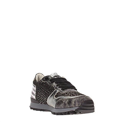 YNOT Gris Oscuro 37 Fibras Mujer Textiles SYW106 W15 Sneakers rTwqABgr