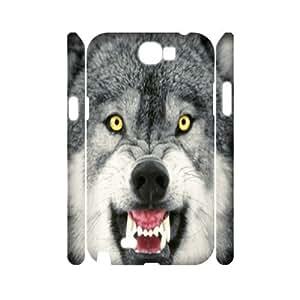 GRTT Gorgeous Samsung Galaxy Note 2 N7100 case Wolf Customized Hard Case RT713654