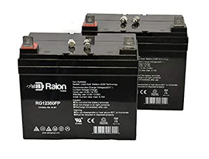 Amazon com: Raion Power RG12350FP 12V 35Ah Replacement