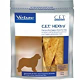 Cheap C.E.T. HEXtra Premium Oral Hygiene Chews with Chlorhexidine, Extra-Large Dogs, 30 Chews