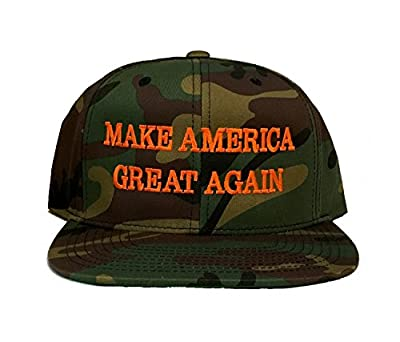 Make America Great Again Cap Donald Trump Hat Camo Yupoong Classic Snapback