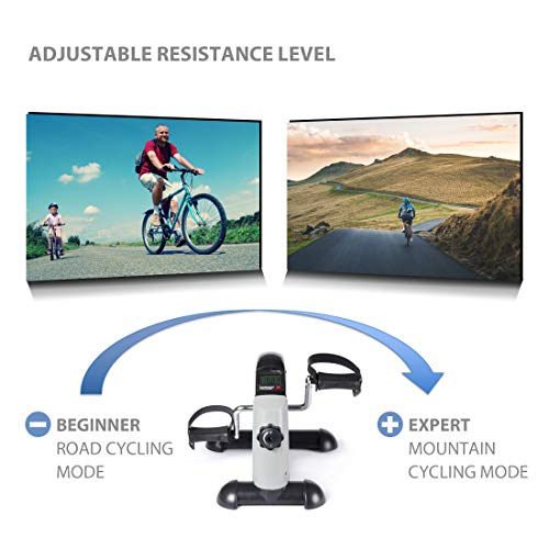 Ultrasport Mini Bike Cyclette per Allenamento 4