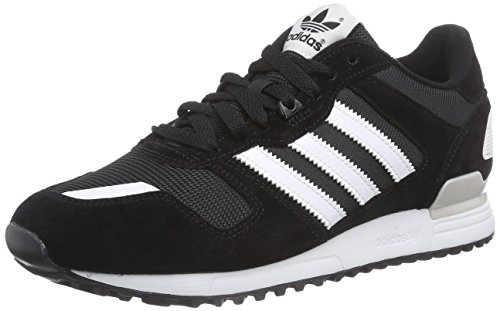 Homme 700 negro Adidas Multicolore Baskets Blanco Gris Basses Zx YawIp