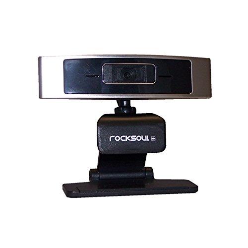 ROCKSOUL 1080HD Webcam, black silver (WK-107219SB)