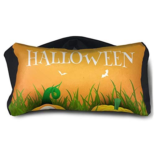 Eye Pillow Happy Halloween With Pumpkins Custom Personalized Mens Portable Blindfold Train Sleep Eye Bag Mask -