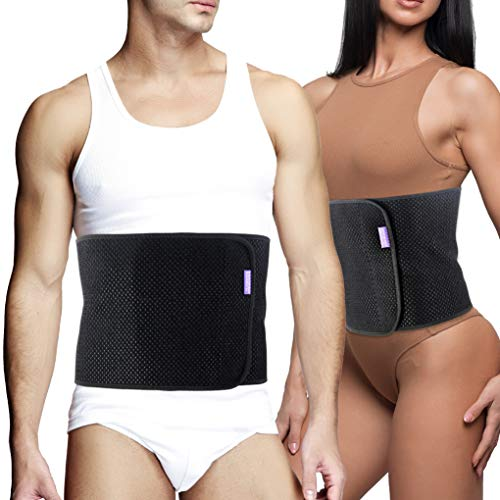 Everyday Medical Abdominal Binder Post Surgery - with Bamboo Charcoal Accelerate Healing and Reduce Swelling After C-Section, Abdomen Surgeries, Tummy Tuck, Bladder & Gastric Bypass Belly Girdle