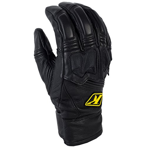 Klim Adventure Men's Dirt Bike Motorcycle Gloves - Black / Large