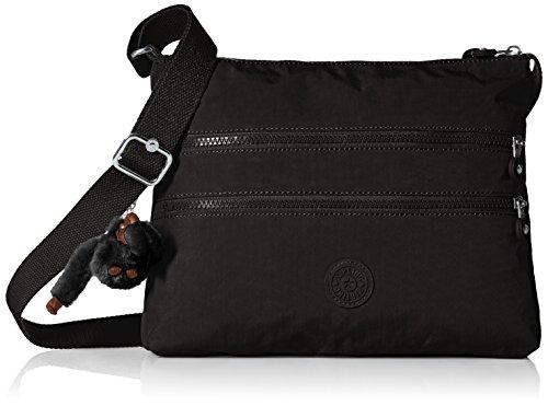 Kipling Women's Alvar Black Tonal Crossbody Bag, t (Kipling Handbags On Sale)