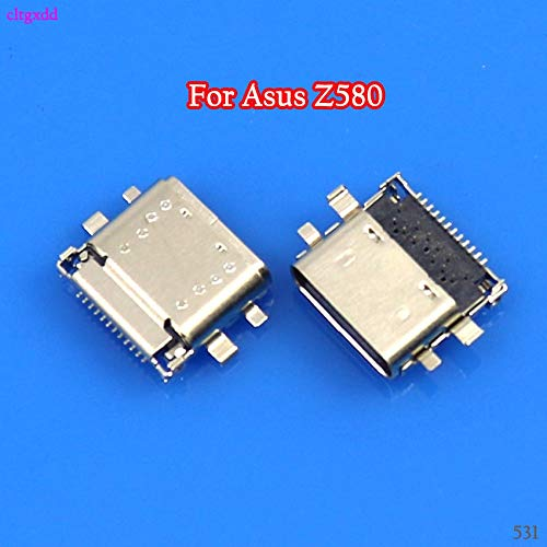 Gimax 10PCS//Lot For ASUS ZenPad S 8.0 Z580 Z580CA P01MA USB Charging Port Connector Charge Jack Socket Dock Plug