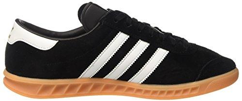 Adidas Herren Hamburg Low-top Schwarz (core Zwart / Ftwr Wit / Tandvlees)