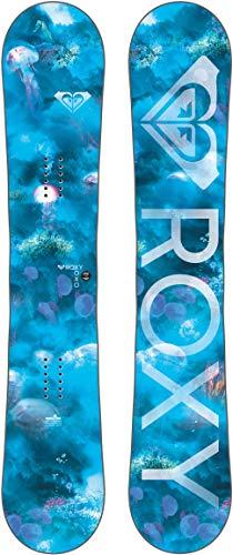 (Roxy XOXO Banana Blem Snowboard Aqua Womens Sz 149cm )