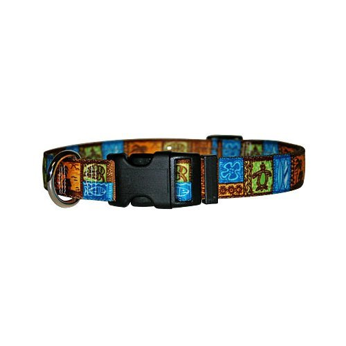 Tiki Dog Collar - Size Small 10