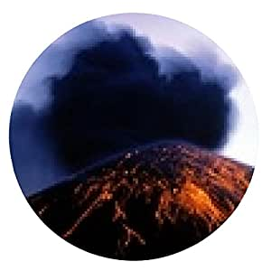 alfombrilla de ratón Krakatau - ronda - 20cm