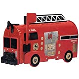 Fire Engine Mailboxes