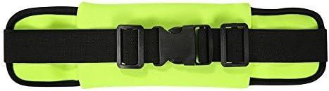 Running Belt Waist Bag Pack Outdoor Sports Workout Sweatproof Resistant 3 Bags in 1, for Smartphone Credit Card Keys Money, Adjustable Strap