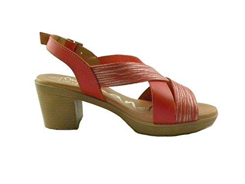 Sandals Rosso Sandalo Rojo Oh Donna Comodo 3894 My E0048 qSx5O