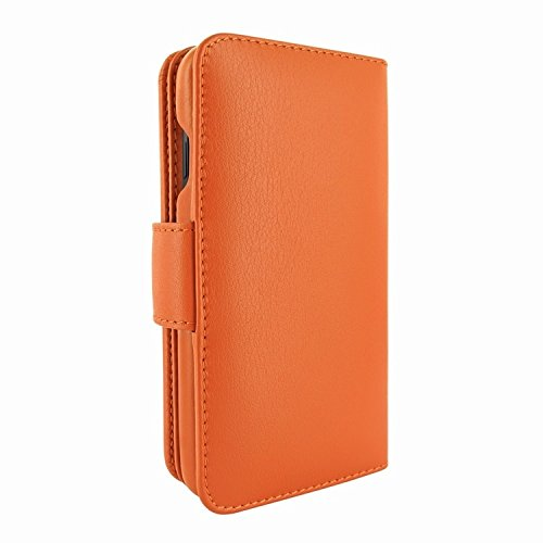 ❥ Piel Frama iPhone XR WalletMagnum Leather Case - Orange orange iphone xr case 6