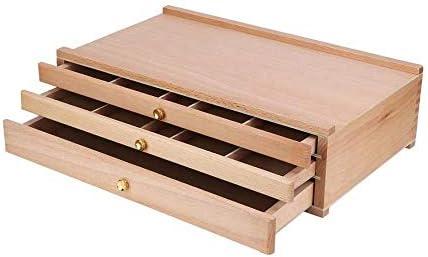 TD-Easels Art Frame Supplies Wood Artist Easel Painting Portable Storage Photo Box Frame Artist Light