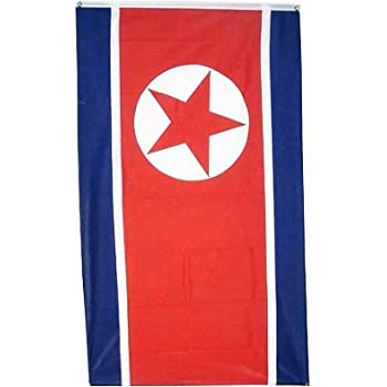 amazon com new 3x5 north korea flag korean banner outdoor flags