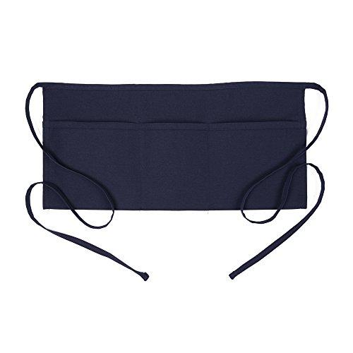 (Fame Adult 3 Pocket Waist Apron (Navy-O/S))