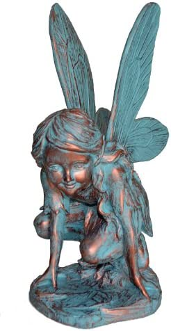 Home Styles Butterfly Fairy 96136 Large Statue Bronze Patina