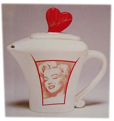 UPC 733966700201, Lovely Marilyn Monroe Collection Teapot