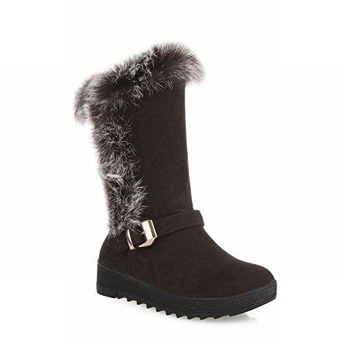 Schouder Dames Faux Fur Mode Comfort Comfort Warme Snowboots Bruin