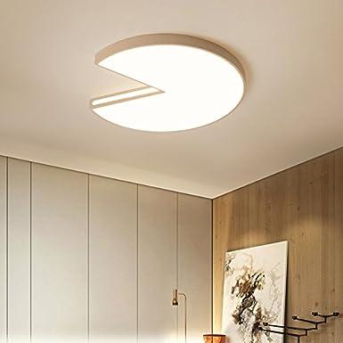 Commande À Distance La Gradation 21W 52Cm ZHUDJ Led Lampe De Plafond Moderne Chambre Chambre Les Lampes Et Les Lanternes,52