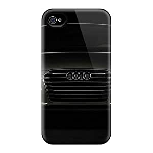 New Audi A7 Tpu Skin Case Compatible With Iphone 4/4s