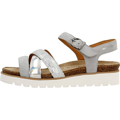 Sandalias y chanclas para mujer, color gris , marca MEPHISTO, modelo Sandalias Y Chanclas Para Mujer MEPHISTO MESS B Gris gris