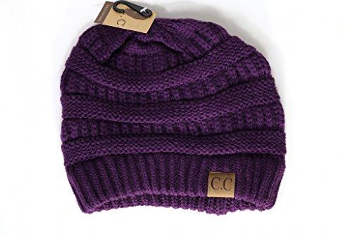 Crane Clothing Co. Women's Classic CC Beanies One Size Dark - Classic Skull Cap