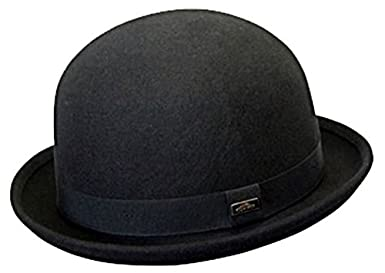 11492f574cc Conner Hats Men s Bowler Derby Wool Hat at Amazon Men s Clothing store  Bowler  Derby Hat Men