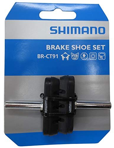 Replacement Brake Shoe Set - Shimano BR-CT91 Cantilever Brake Shoe Set