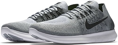 Black Shoe Grey Flyknit RN anthracite Running Nike 2017 Wolf Men's Free w8PpWYxz