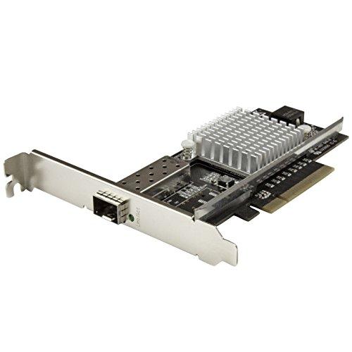 StarTech.com 10G Network Card - MM/SM - 1x Single 10G SPF+ Slot - Intel 82599 Chip - Gigabit Ethernet Card - Intel NIC Card