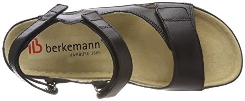 Black Kimba Ankle Berkemann Black Women's Sandals Strap xwH0wnRpq