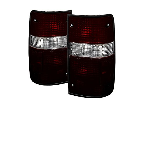 Toyota Pickup OEM Style Tail Lights Red And Smoke Lensd + Free Gift Black Chrome Turbo Key Chain. (Toyota Pickup Turbo compare prices)
