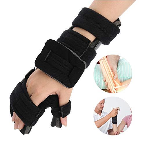 Muñequera Férula Estabilizador Correa Brace Apoyo Artritis Túnel Carpiano ayuda de la muñeca promueve la recuperación rápida de lesión de la mano(Derecha M)
