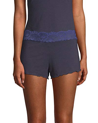 Samantha Chang Womens Lace Waist Shortie, S