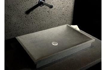DUNE: Vasque - Évier salle de bain à poser encastrable en ...