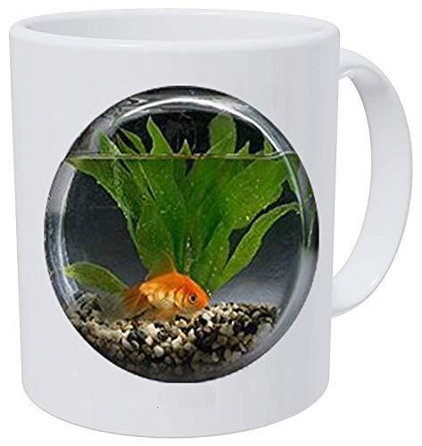 - Goldfish Bowl Necklace Fish Jewelry Necklace Wearable Art Pendant Charm Goldfish Pendant Charm Mug- Christian Insect Art Coffee Mug,Unique Coffee Mug Customized Gift,Everyday Gift Coffee Mug