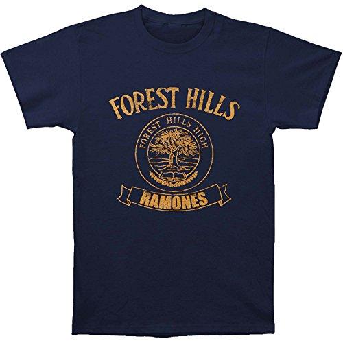 Ramones Men's Forest Hills T-shirt Navy
